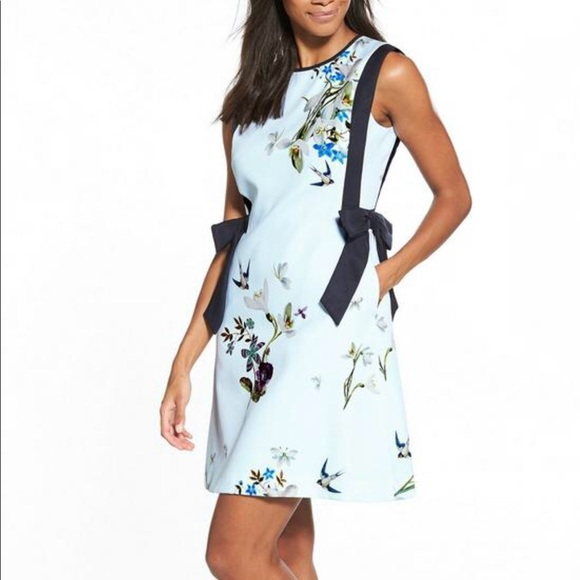 Ted baker london dresses ted baker side bow dress cute like new m5b6861f4d6716a3ee41816bc mightylinksfo